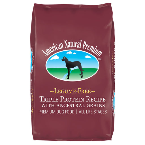 American Natural Premium Triple Protein with Ancestral Grains Recipe Dog Food