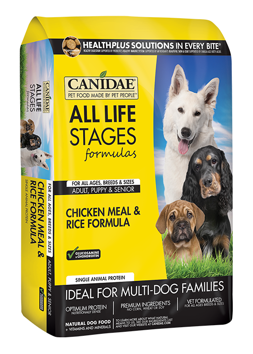 CANIDAE® ALL LIFE STAGES CHICKEN MEAL & RICE FORMULA  DRY DOG FOOD