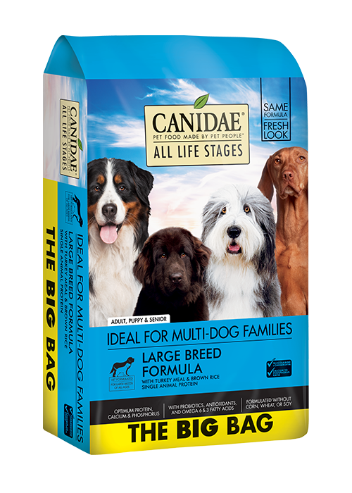 CANIDAE® All Life Stages Large Breed Turkey Meal & Brown Rice
