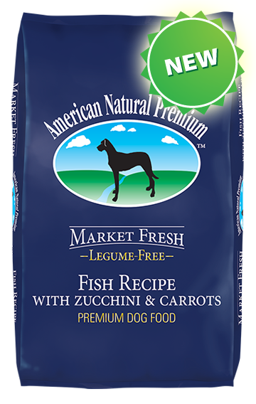 American Natural Premium Legume Free Fish Recipe with Zucchini and Carrots