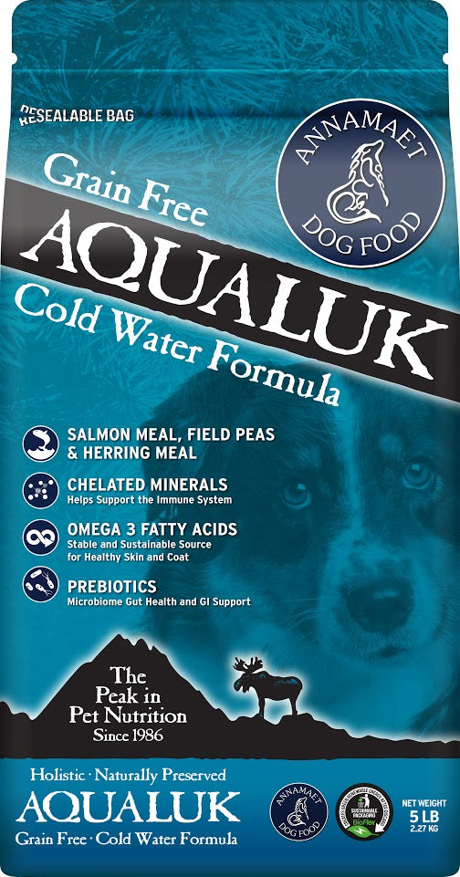Annamaet Grain Free Aqualuk Cold Water Formula Dry Dog Food