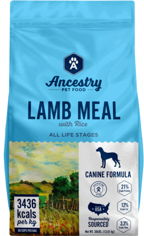 Ancestry Lamb Meal and Rice Dog Food