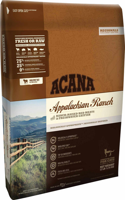 ACANA Appalachian Ranch Dry Cat Food