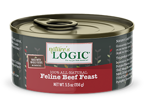 Nature's Logic Beef Feast Canned Food for Cats
