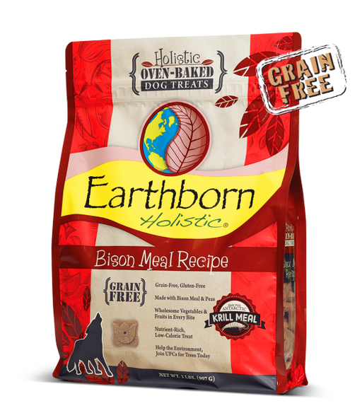 Earthborn Holistic® Bison Meal Recipe Biscuits
