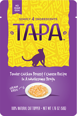 TAPA Tender Chicken Breast & Cheese In A Wholesome Broth