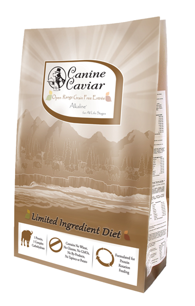 Canine Caviar Open Range Buffalo and Chickpea Dry Dog Food