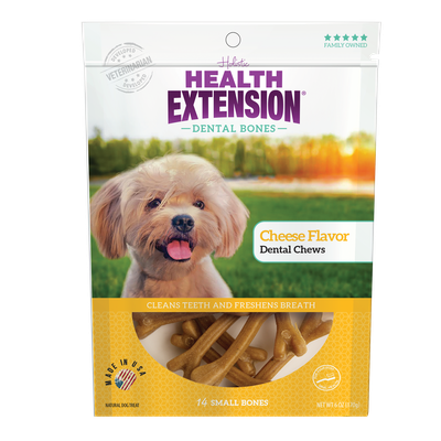 Health Extension Cheese Flavor Dental Bones