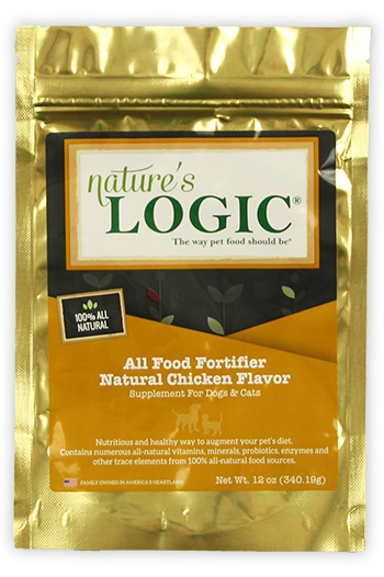 Nature's Logic All Food Fortifier Chicken for Cats and Dogs