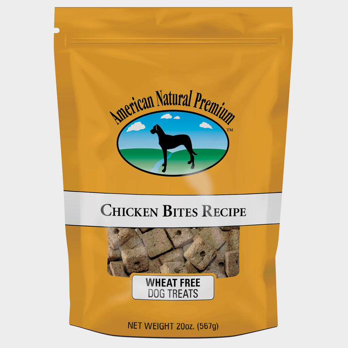 American Natural Premium Chicken Bites Dog Treats
