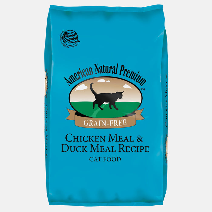 American Natural Premium Grain Free Chicken & Duck Recipe Cat Food