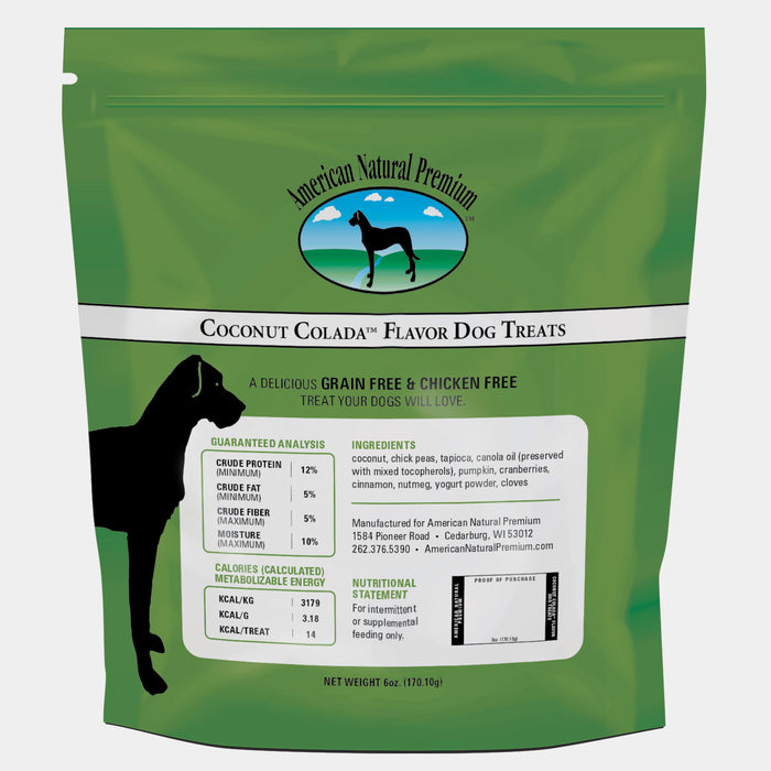 American Natural Premium Grain Free Coconut Colada Dog Treats