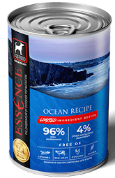 Essence Pet Foods Limited Ingredient Recipe Ocean Wet Dog Food