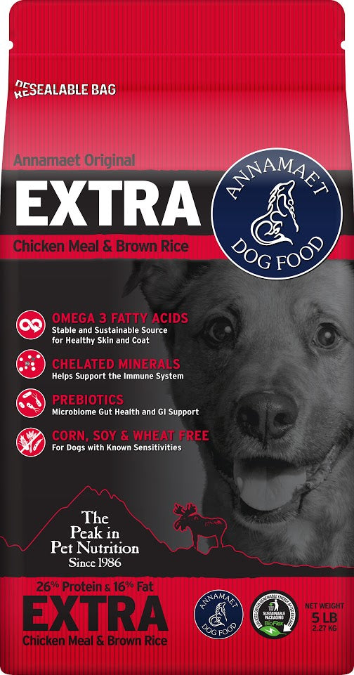 Annamaet Extra Formula Dry Dog Food