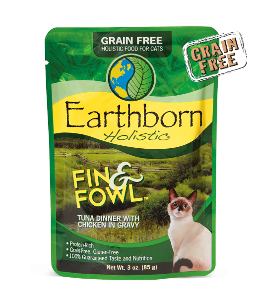 Copy of Earthborn Holistic® Fin & Fowl ™ Tuna Dinner with Chicken in Gravy