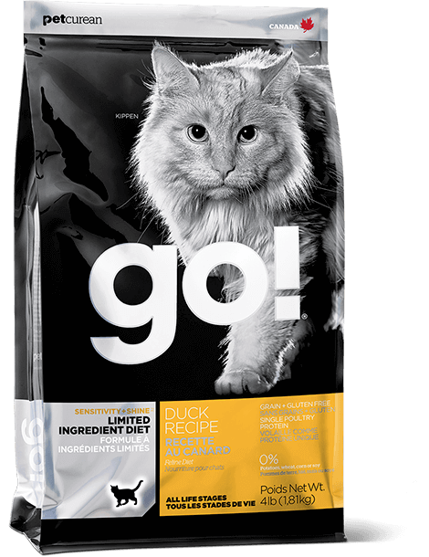 GO! SOLUTIONS SENSITIVITY + SHINE LIMITED INGREDIENT DUCK RECIPE FOR CATS
