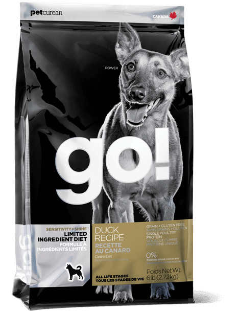 GO! SOLUTIONS SENSITIVITY + SHINE LIMITED INGREDIENT DUCK RECIPE FOR DOGS