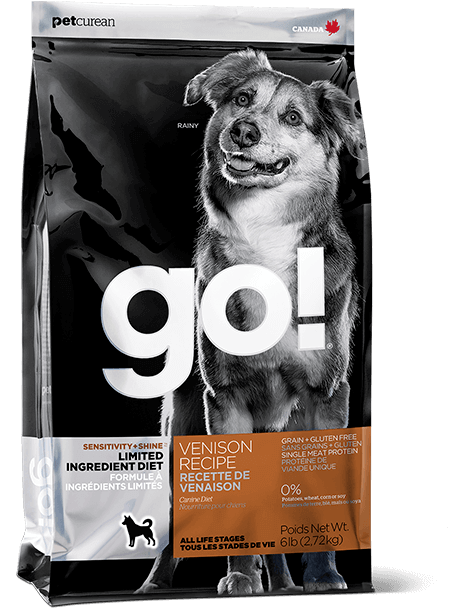 GO! SOLUTIONS SENSITIVITY + SHINE LIMITED INGREDIENT VENISON RECIPE FOR DOGS