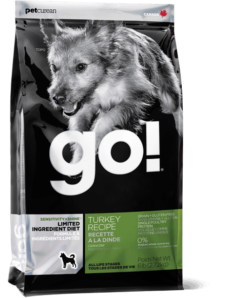 GO! SOLUTIONS SENSITIVITY + SHINE LIMITED INGREDIENT TURKEY RECIPE FOR DOGS