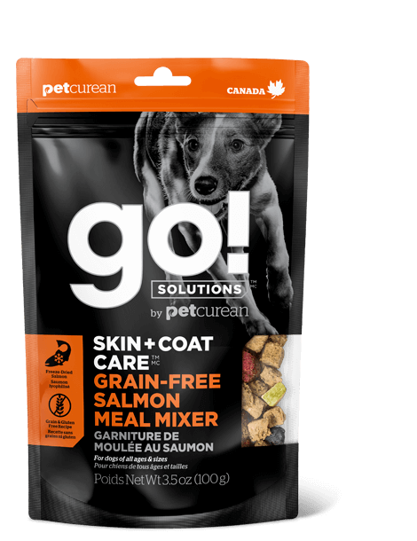 GO! SOLUTIONS MEAL MIXERS SKIN + COAT CARE SALMON MEAL MIXER