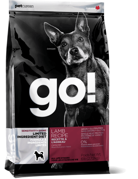 GO! SOLUTIONS SENSITIVITY + SHINE LIMITED INGREDIENT LAMB RECIPE FOR DOGS