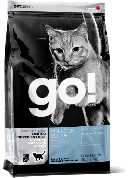 GO! SOLUTIONS SENSITIVITY + SHINE LIMITED INGREDIENT POLLOCK RECIPE FOR CATS