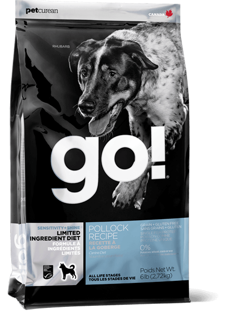 GO! SOLUTIONS SENSITIVITY + SHINE LIMITED INGREDIENT POLLOCK RECIPE FOR DOGS