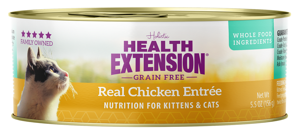Health Extension Grain Free Real Chicken Entree for Cats