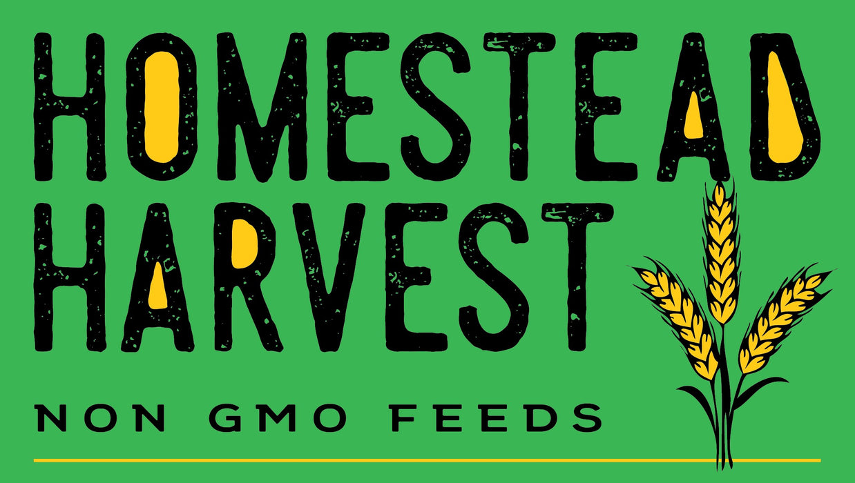 Homestead Harvest Non-GMO Quail Layer 26% for laying Quail