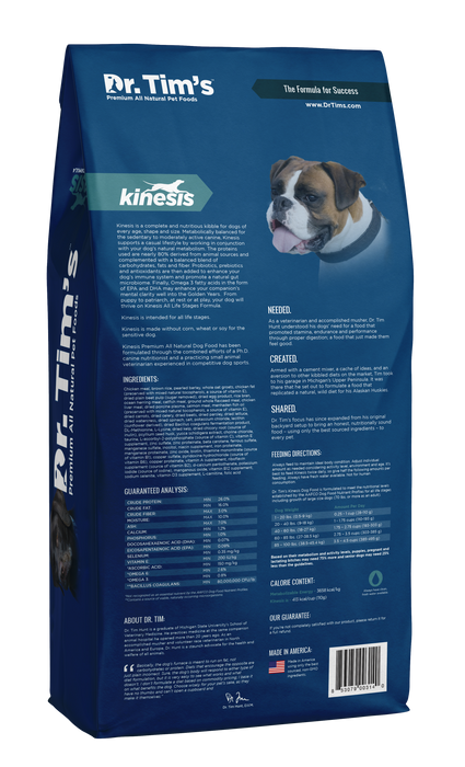 Dr. Tim's Kinesis All Life Stages Formula Dog Food