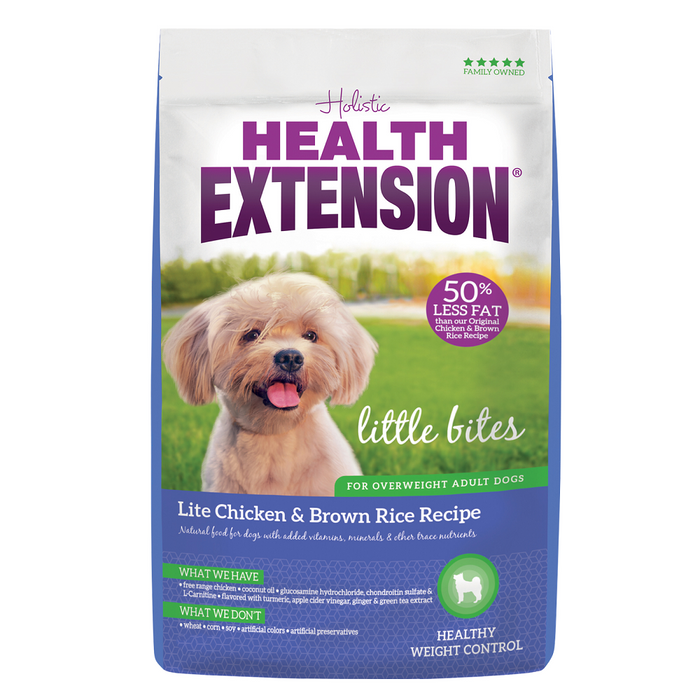 Health Extension Little Bites Lite Chicken & Brown Rice Recipe