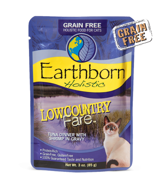 Earthborn Holistic® Lowcountry Fare™ Tuna Dinner with Shrimp in Gravy