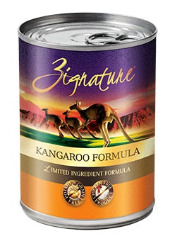 Zignature Kangaroo Canned Dog Food Formula