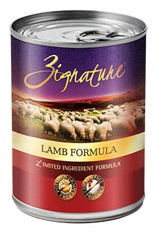 Zignature Lamb Canned Dog Food Formula