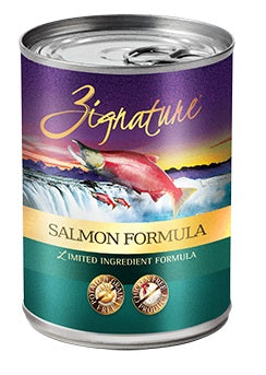 Zignature Salmon Canned Dog Food Formula