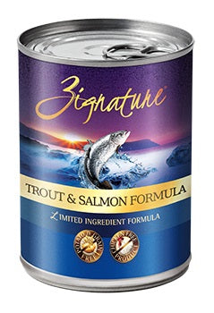 Zignature Trout and Salmon Canned Dog Food Formula