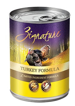 Zignature Turkey Canned Dog Food Formula