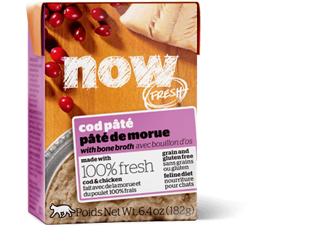 NOW FRESH Grain Free Cod Pâté for cats