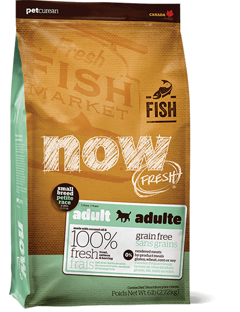 NOW FRESH SMALL BREED Grain Free Small Breed Fish Adult Recipe
