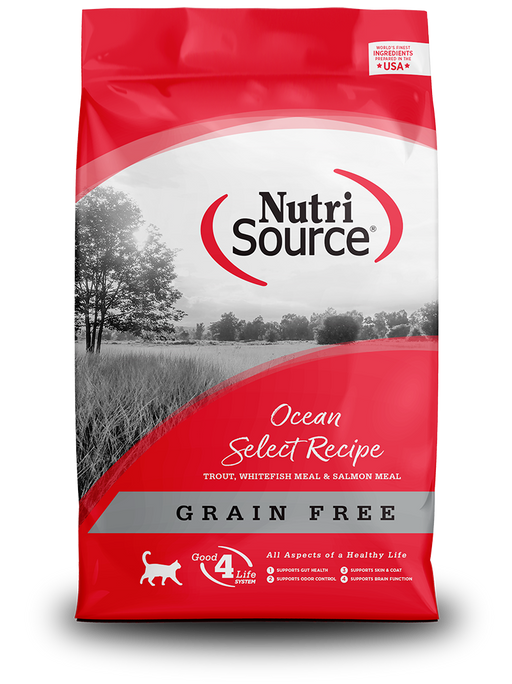 Nutrisource Cat Grain Free Ocean Select Entrée