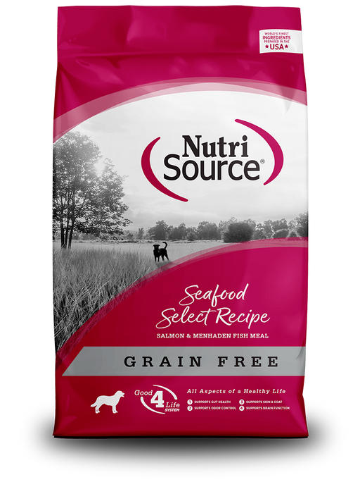 Nutrisource Grain Free Seafood Select Dry Dog Food