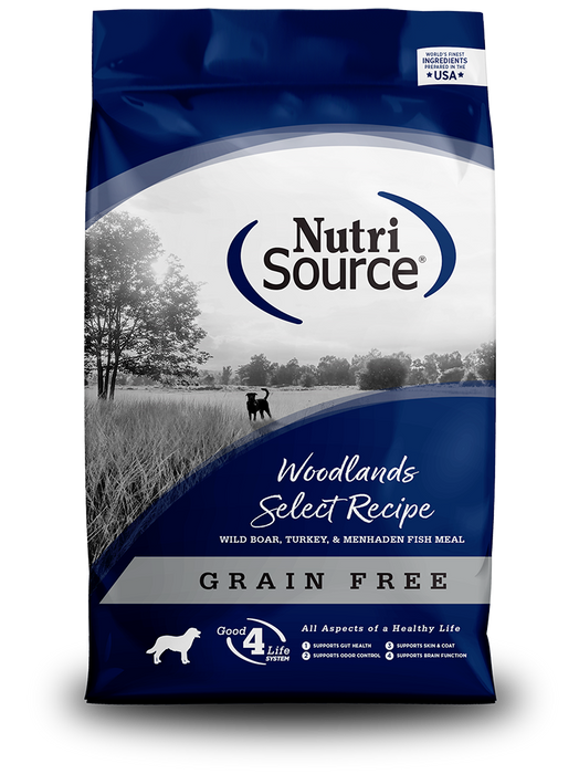 Nutrisource Grain Free Woodlands Select Dry Dog Food