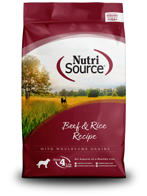 Nutrisource Adult Beef & Rice Formula