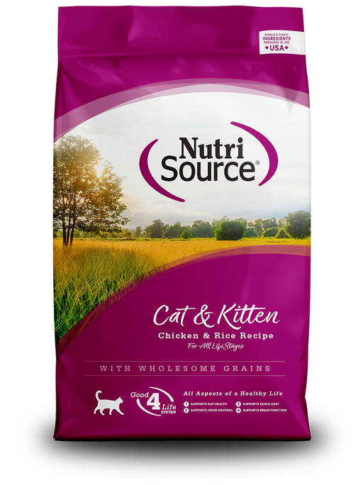 Nutrisource Cat & Kitten Chicken & Rice Formula