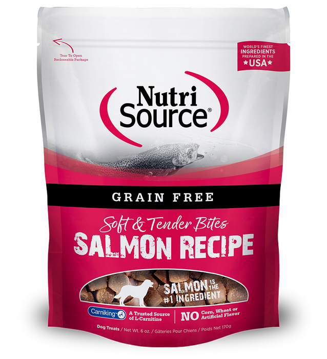Nutrisource Grain Free Salmon Dog Treats