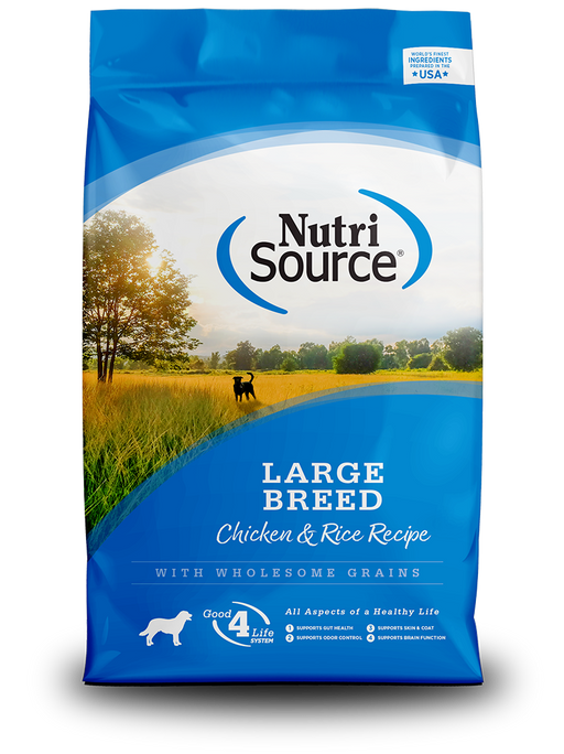 Nutrisource Large Breed Adult Chicken & Rice Dry Dog Food