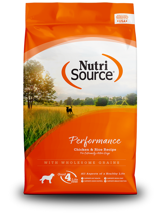 Nutrisource Performance Chicken & Rice Formula