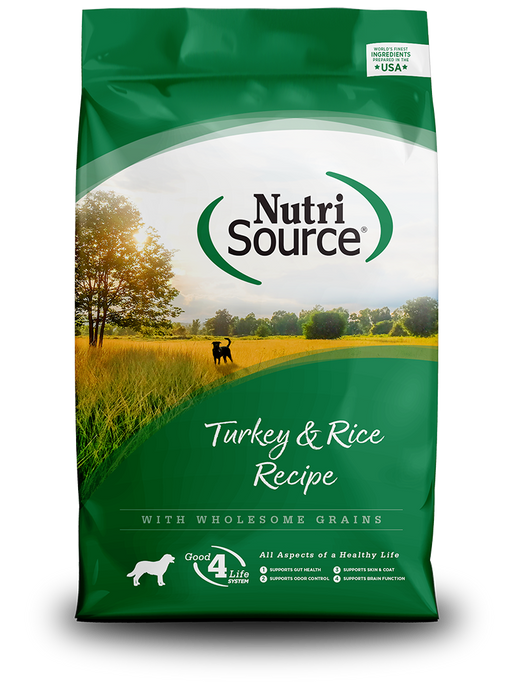 Nutrisource Adult Turkey & Rice Formula