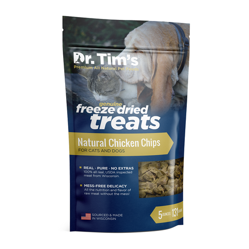 Dr. Tim's Natural Chicken Chips for Cats & Dogs