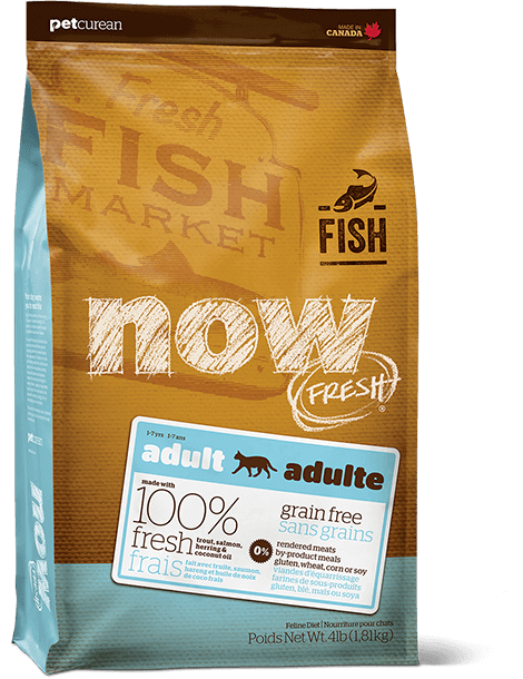 NOW FRESH Grain Free Fish Recipe for Adult Cats